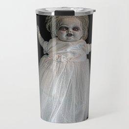 Zombie Doll. Travel Mug