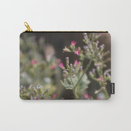 Tiny Pink Wildflowers Coachella Valley Wildlife Preserve Carry-All Pouch