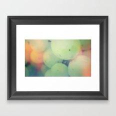 Muscat Framed Art Print