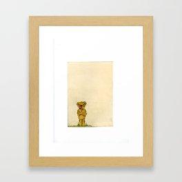 Valentines Cub Framed Art Print