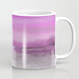 Pink and Purple Abstract Seascape Coffee Mug