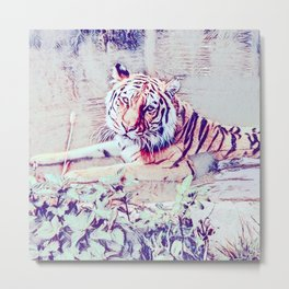 SmartMix Animal - Tiger 3 Metal Print
