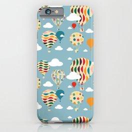 hot air ballon iPhone Case