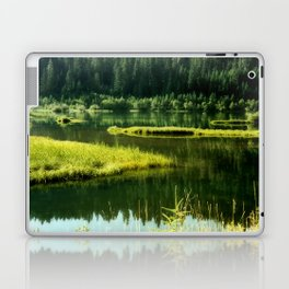Fishing The Still Waters Laptop & iPad Skin