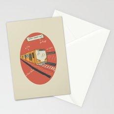 U-BAHN  Stationery Cards