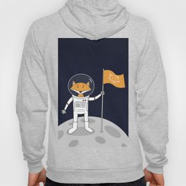 The Fox on the Moon Hoody