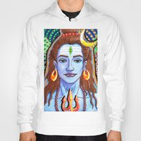 shiva Hoodies featuring Shiva Pop by Deepak Puri