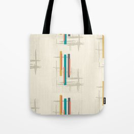"Mid Century Modern ""Bar"" Tote Bag"