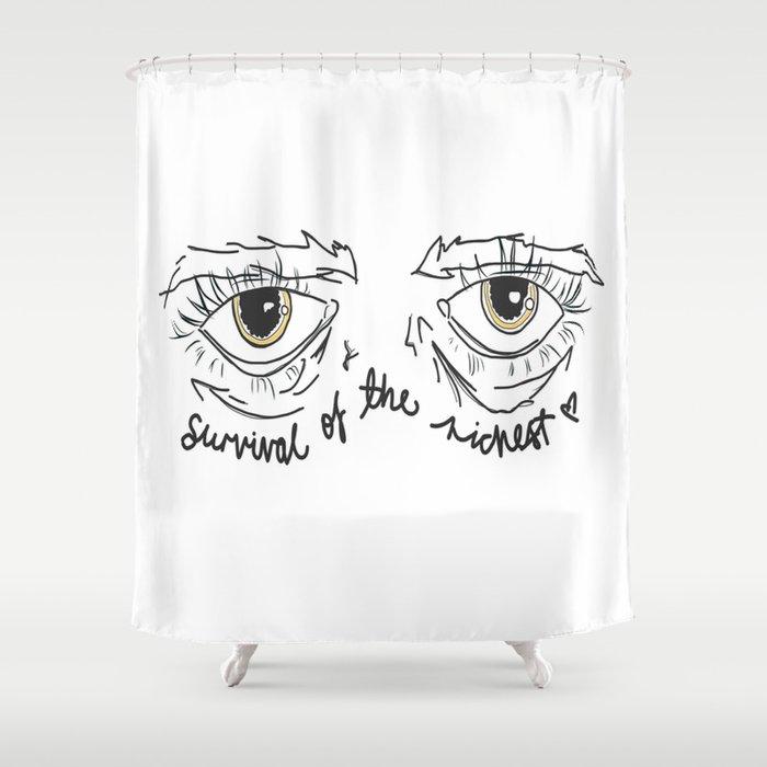 NEW AMERICANA // HALSEY Shower Curtain by grlpower | Society6