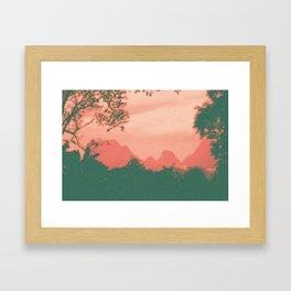 Through The Jungle Framed Art Print