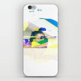 GLITCH NATURE #52: Honolulu iPhone Skin