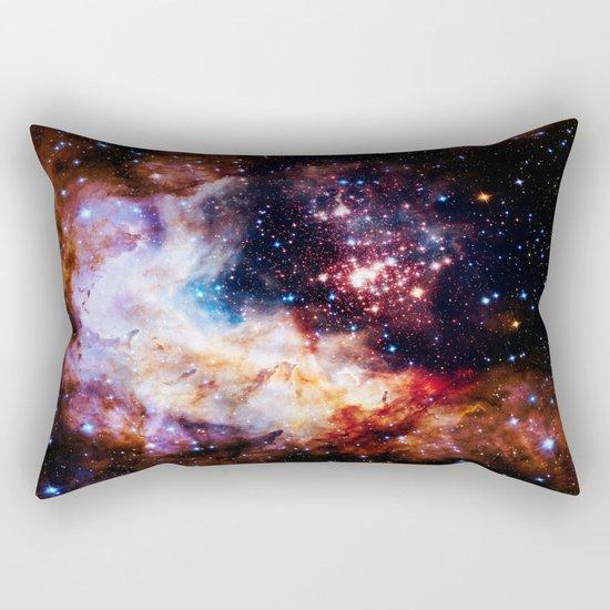 gALaxy : Celestial Fireworks Rectangular Pillow