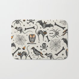 Halloween X-Ray Bath Mat