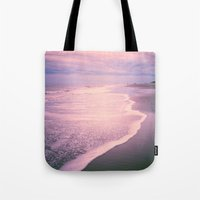 calm Tote Bags featuring Calm by Olivia Joy StClaire