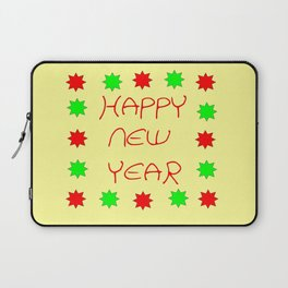 happy new year 3 Laptop Sleeve