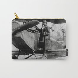 Bessie Coleman, First African-American and Native American Woman to hold a pilot license  Carry-All Pouch