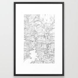 Construct II Framed Art Print