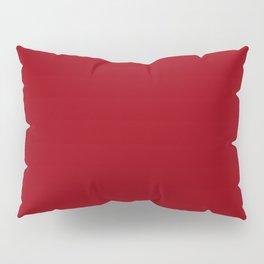 Sangria - solid color Pillow Sham