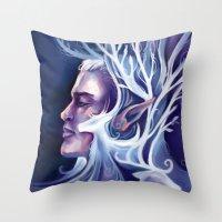 thranduil Throw Pillows featuring Thranduil by MelColley