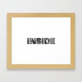 What's inside? Framed Art Print