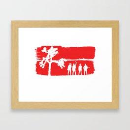 The Joshua Tree Framed Art Print
