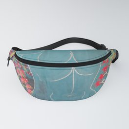 """In the garden at Villa Riario"" by ICA PAVON Fanny Pack"