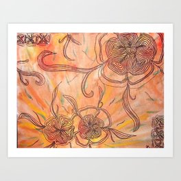 Petals for Arms  Art Print