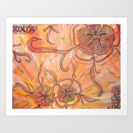Petals for Arms  Art Print