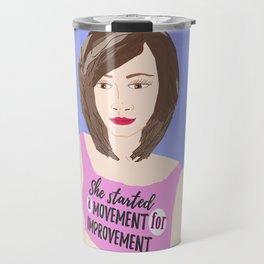 Movement for Improvement Travel Mug