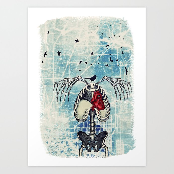 Icarus - Lord of the Sky Art Print