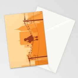 Too Big For The City Stationery Cards