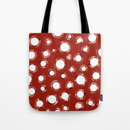 Wine Stain Pattern Tote Bag
