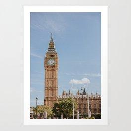 London o'Clock Art Print