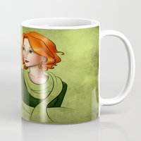 clover Mugs featuring Clover by Whisperwings