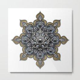 Mandala - Heraldic Metal Print