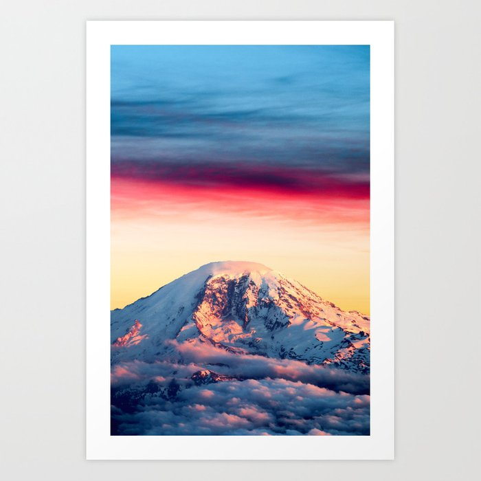 High on a Mountaintop Kunstdrucke