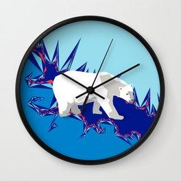 Cold Trek Wall Clock