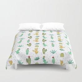 Cactus SERIE - CACTI LOVE Duvet Cover