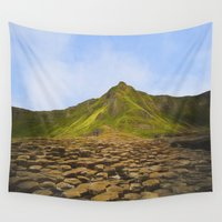 giants Wall Tapestries featuring Giant stones by Peaky40
