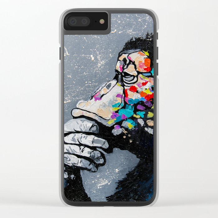 MELOMONKEY I Clear iPhone Case