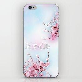 Japanese Cherry Tree iPhone Skin