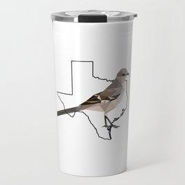 Texas – Northern Mockingbird Travel Mug