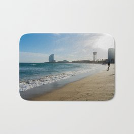 Coast of Barcelona Bath Mat