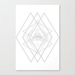 Diamond Eye Canvas Print