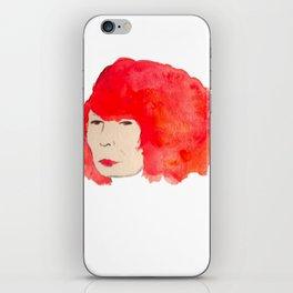 Fire Head iPhone Skin
