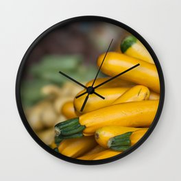 Squashed Wall Clock