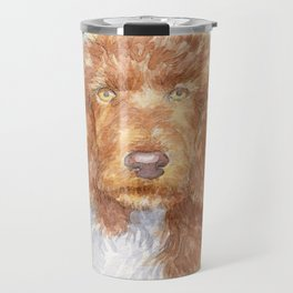 Cockapoo portrait Travel Mug