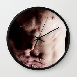 "Derick ""Wet Torso"" Wall Clock"