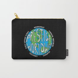 Prestige Worldwide Enterprise, The First Word In Entertainment, Step Brothers Original Design for Wa Carry-All Pouch
