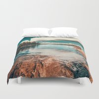 rock Duvet Covers featuring Belle Svezia by HappyMelvin